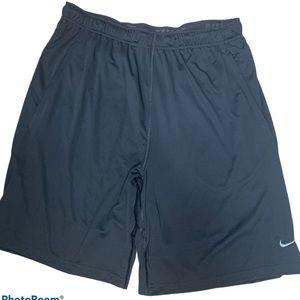 Nike Dri-fit black athletic shorts